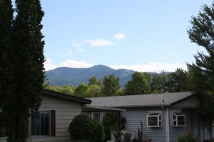 a view of some mountains surrounding Rogue Valley